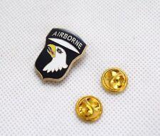 Us Army 101st Airborne Badge Military Shirt Badge Lapel Pin