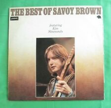 "Savoy Brown (ft Kim Simmonds) Lp- The Best Of, orig Australian ""London"" pressing"