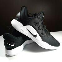 Men 11.5 Nike Zoom Hyperdunk X Low 2018 Basketball Shoes AR0463-001 Black White