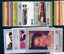 Nevis 1986 - 10 complete sets UM/MNH