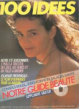▬► 100 IDÉES A FAIRE VOUS MÊME  N° 141 (1985) COUTURE_TRICOT_OUVRAGES_DÉCO