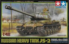 1/48 Tamiya 32571 - Soviet WWII JS-2 Heavy Tank 1944 ChKZ Plastic Model Kit