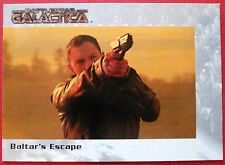 BATTLESTAR GALACTICA - Premiere Edition - Card #35 - Baltar's Escape