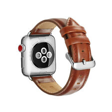 Genuine Leather iWatch Band Strap for Apple Watch Series 6/5/4/3/2 38/40/42/44mm