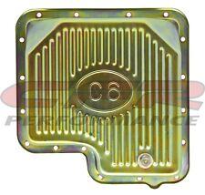 "Zinc Steel Stock Debth Ford C6 C-6 Transmission Oil Pan W/ Drain Plug 2-3/8"""