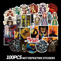 100x Game of Thrones Vinyl Stickers Graffiti Bomb Decals Pack Laptop Skateboard