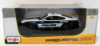 Maisto 1/18 Scale Diecast 36203 - 2015 Ford Mustang GT Police Car