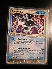 PL Pokemon KINGDRA EX Card DRAGON Set  92/97 Ultra Rare Holo TCG 150 HP