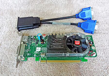 Dell ATI Radeon HD 2400 XT 256MB PCI-e Card XX355 DMS-59 Low Profile w/ Cable