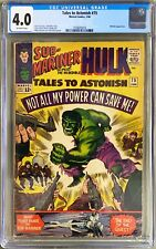Tales to Astonish 75 cgc  Marvel 1966 Submariner Incredible Hulk 4.0 , or 3.5