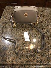 NWT Tory Burch Limited Edition Mini Gray Heron Crossbody Handbag