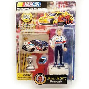 NASCAR vintage ACTION FIGURE - #6 MARK MARTIN VALVOLINE UNOPENED BRAND NEW