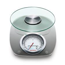 Soehnle Vintage Style Digital Kitchen Scale, Gray