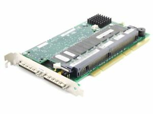 Dell 09M912 Perc 3 / Dc SCSI Raid Controller Card Pci-X U160 128MB Bbwc