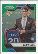 Dario Saric 2016-17 Panini Prizm Prizms Green Refractor RC #2    76ers