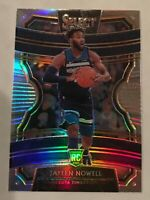 2019-20 Select CONCOURSE SILVER PRIZM Refractor Timberwolves JAYLEN NOWELL RC