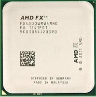 AMD FX-4300 3.8GHz FD4300WMW4MHK Quad Core CPU Processor Socket AM3+