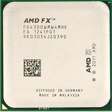 AMD FX-4300 3.8GHz FD4300WMW4MHK Quad Core CPU socket del processore AM3+