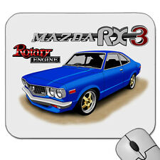 MAZDA  RX3  COUPE   12A   ROTARY ENGINE        MOUSE PAD   MOUSE MAT