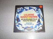 LILIANE SAINT PIERRE 45 TOURS BELGE HC CLAUDE FRANCOIS