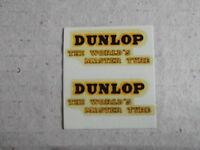 """Dinky 451 """"Dunlop"""" Trojan Van Decals/Transfers"""