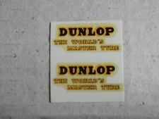 """Dinky 451 """"Dunlop"""" Trojan Van Decals/Transfers#2"""