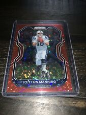 2020 NFL Prizm 🔥Red Disco Peyton Manning 28/50🔥 SP