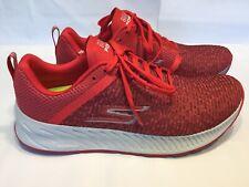 Skechers Gorun Go Run Forza 3 Men's Running Shoes White Red Size 10