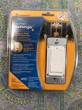 Home Settings Wireless Control 3-Way In-Wall Switch/Dimmer ~ Nos Z-wave compat.