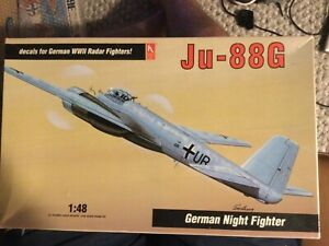 hobbycraft 1/48 ju-88g german night fighter