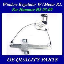 Upgraded Power Window Regulator w/Motor Rear Left for Hummer H2 03-09 15771354