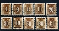 Hungary ten 1951 Postage Due Used