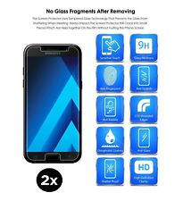 BLACK FRIDAY TWO SAMSUNG GALAXY A5 2017 (A520) TEMPERED GLASS SCREEN PROTECTOR