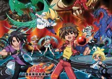 BAKUGAN BATTLE BRAWLERS ANIME CARTOON A3 POSTER PRINT YF1090