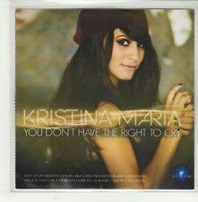 (GS3) Kristina Maria, You Don't Have The Right To Cry - DJ CD