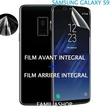 Film protection entier total intégral pour Samsung Galaxy S9  + 1 film arrière