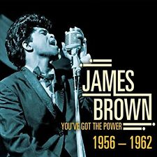 CD JAMES BROWN YOU'VE GOT THE POWER 1956 - 1962 PLEASE PLEASE NIGHT TRAIN THINK