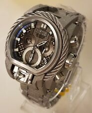 Invicta Reserve Bolt Zeus Cable Magnum Swiss Dual Mvmt Sandblasted Watch