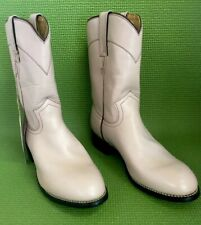 Girl's Size 5D Justin Cowgirl boots Cameo Pink Nwt C18