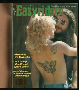 1979 February Easyriders - Vintage Motorcycle Magazine with David Mann Poster