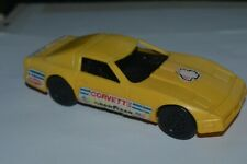 1986 Vintage REMCO Corvette Yellow All Plastic 6 Inches Long Rare