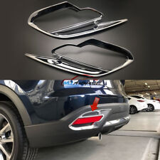 For Mazda CX-9 CX9 2017 2018 ABS Chrome Back Rear Tail Fog Light Lamp Cover Trim