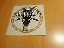 Satyricon-K.I.N.G. Single CD 2006 Limited Edition 1000 copies Black Metal Rare