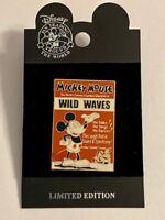 WDW Mickey Mouse Wild Waves Disney Pin (B)
