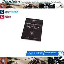New Jaguar E-Type S1 3.8 Parts Catalogue J30/S