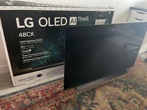 "LG OLED48CX6LB - 48"" - OLED 4K (Smart TV) - Black"