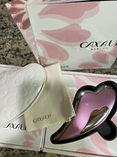 MTG Beauty Circulation Device CAXA UP Set Stylish Pink Face Skin Massager Used