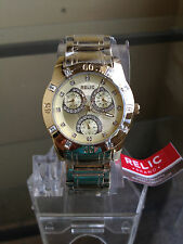 wannawatch:NIB RELIC by FOSSIL Beth Goldtone Multifunction Stainless Steel Watch