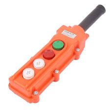 Crane Chain Hoist 4 Way Push Button Switch Pendant Lift Control Station COB61A