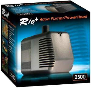 Rio Plus 2500 Aquarium Pump Powerhead 782gph - Fish Tank Aquatic Rio+